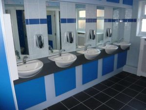 Standard Range Washroom Vanity Units
